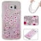 Samsung Galaxy S6 Case,Liquid Quicksand Floating Clear Soft TPU Protective Cover (pattern 3) For Samsung Galaxy S6