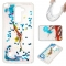 LG LS775 Case,Liquid Quicksand Floating Clear Soft TPU Protective Cover (pattern 6) For LG LS775