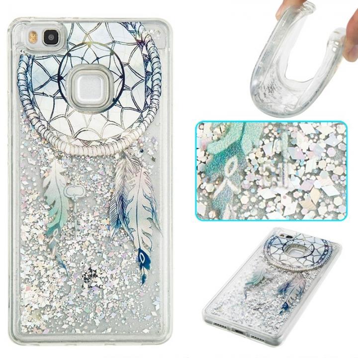 Huawei P9 Lite Case,Liquid Quicksand Transparent Soft TPU Silicone Case  (pattern 6) For Huawei P9 Lite