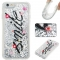Iphone 6/6S Case,Liquid Quicksand Floating Clear Soft TPU Protective Cover (pattern 1) For Iphone 6/6S