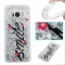 Samsung Galaxy S8 Case,Liquid Quicksand Floating Clear Soft TPU Protective Cover (pattern 1) For Samsung Galaxy S8