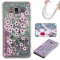 Samsung Galaxy Grand Prime G530 Case,Liquid Quicksand Floating Clear Soft TPU Protective Cover (pattern 3) For Samsung Galaxy Grand Prime G530