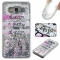 Samsung Galaxy Grand Prime G530 Case,Liquid Quicksand Floating Clear Soft TPU Protective Cover (pattern 2) For Samsung Galaxy Grand Prime G530