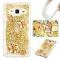 Samsung Galaxy J3/J310 Case,Liquid Quicksand Transparent Soft TPU Silicone Case  (pattern 9) For Samsung Galaxy J3/J310