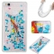 Huawei P9 Lite Case,Liquid Quicksand Floating Clear Soft TPU Protective Cover (pattern 6) For Huawei P9 Lite