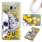 Samsung Galaxy Grand Prime G530 Case,Liquid Quicksand Transparent Soft TPU Silicone Case  (pattern 1) For Galaxy Grand Prime G530