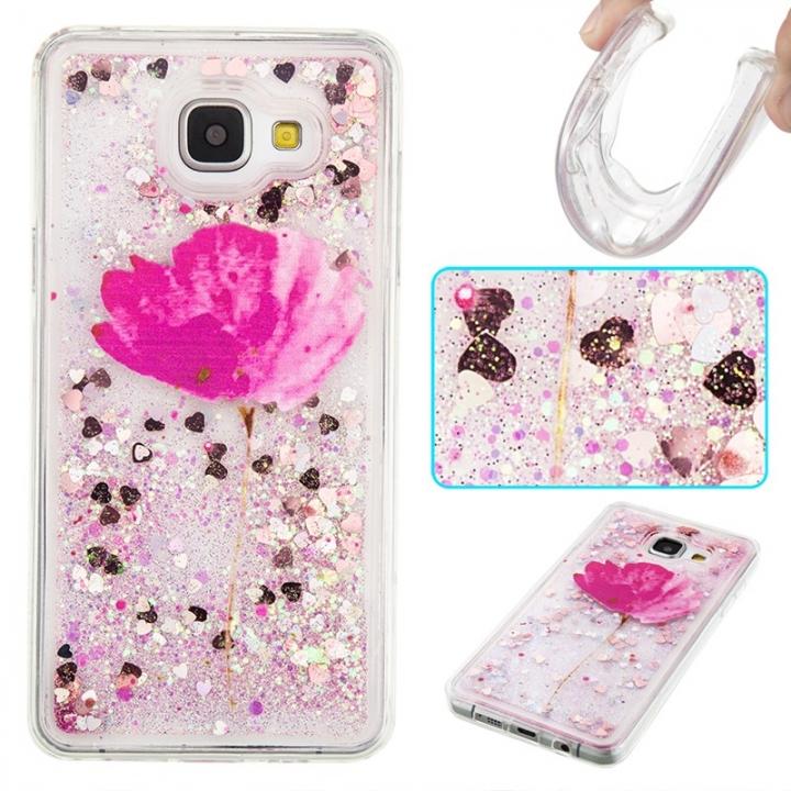 Samsung Galaxy A310 A3(2016) Case,Liquid Quicksand Transparent Soft TPU Silicone Case (pattern 5) For Galaxy A310 A3(2016)