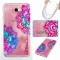 Galaxy J7 Prime / On7 2016 Case,Liquid Quicksand Transparent Soft TPU Silicone Case  (pattern 7) For Galaxy J7 Prime / On7 2016
