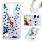 LG K7 K8 Case,Liquid Quicksand Floating Clear Soft TPU Protective Cover (pattern 6) For LG K7 K8