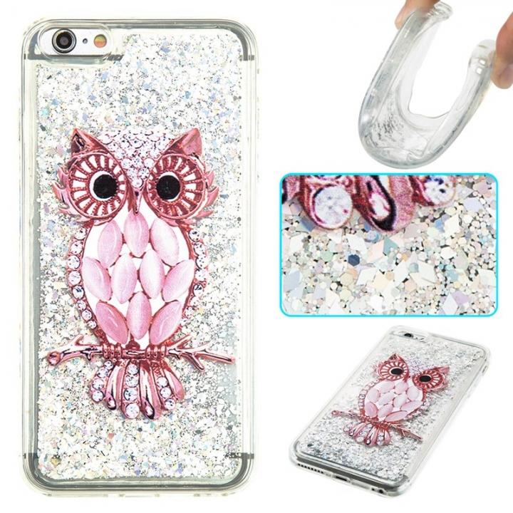 iPhone 6 plus Case,Liquid Quicksand Transparent Soft TPU Silicone Case  (pattern 8) For iPhone 6 plus