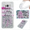 Samsung Galaxy S8 Plus Case,Liquid Quicksand Floating Clear Soft TPU Protective Cover (pattern 2) For Samsung Galaxy S8 Plus