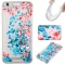 Iphone 6 plus Case,Liquid Quicksand Floating Clear Soft TPU Protective Cover (pattern 10) For Iphone 6 plus