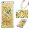 iPhone 6 plus Case,Liquid Quicksand Transparent Soft TPU Silicone Case  (pattern 3) For iPhone 6 plus