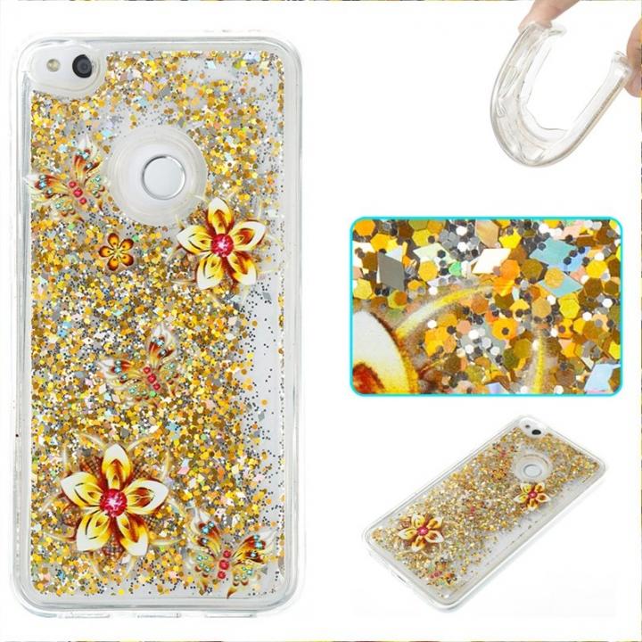 Huawei P8 Lite 2017/Honor 8 2017 Case,Liquid Quicksand Transparent Soft TPU Silicone Case  (pattern 9) For Huawei P8 Lite 2017/Honor 8 2017