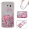 Samsung Galaxy S6 Case,Liquid Quicksand Floating Clear Soft TPU Protective Cover (pattern 8) For Samsung Galaxy S6