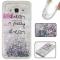Samsung Galaxy J3/J310 Case,Liquid Quicksand Floating Clear Soft TPU Protective Cover (pattern 2) For Samsung Galaxy J3/J310