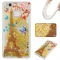 Huawei P9 Lite Case,Liquid Quicksand Floating Clear Soft TPU Protective Cover (pattern 7) For Huawei P9 Lite