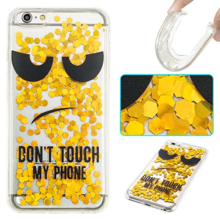 iPhone 6 plus Case,Liquid Quicksand Transparent Soft TPU Silicone Case  (pattern 10) For iPhone 6 plus