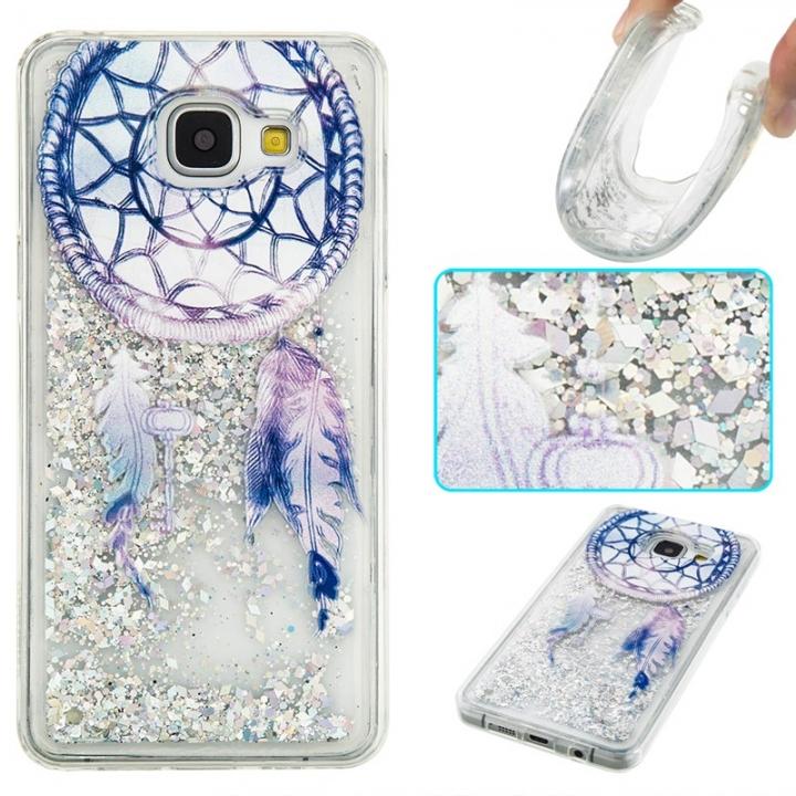 Samsung Galaxy A310 A3(2016) Case,Liquid Quicksand Transparent Soft TPU Silicone Case (pattern 6) For Galaxy A310 A3(2016)