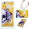 Huawei P9 Lite Case,Liquid Quicksand Transparent Soft TPU Silicone Case  (pattern 1) For Huawei P9 Lite