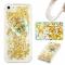 iPhone 5S SE 5C 5G Case,Liquid Quicksand Transparent Soft TPU Silicone Case  (pattern 3) For iPhone 5S SE 5C 5G