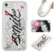 Iphone 7G/8G Case,Liquid Quicksand Floating Clear Soft TPU Protective Cover (pattern 1) For Iphone 7G/8G