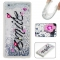 Huawei P8 Lite Case,Liquid Quicksand Floating Clear Soft TPU Protective Cover (pattern 1) For Huawei P8 Lite