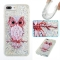 iPhone 7 plus/8 plus Case,Liquid Quicksand Transparent Soft TPU Silicone Case  (pattern 8) For iPhone 7 plus/8 plus