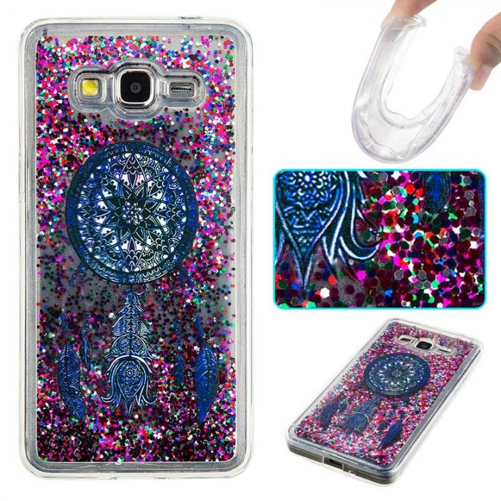 Samsung Galaxy Grand Prime G530 Case,Liquid Quicksand Transparent Soft TPU Silicone Case  (pattern 4) For Galaxy Grand Prime G530