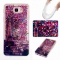 Galaxy J5 Prime / On5 2016 Case,Liquid Quicksand Transparent Soft TPU Silicone Case  (pattern 2) For Galaxy J5 Prime / On5 2016