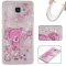 Samsung Galaxy A510/A5 2016 Case,Liquid Quicksand Floating Clear Soft TPU Protective Cover (pattern 8) For Galaxy A510/A5 2016