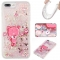 iPhone 7 plus/8 plus Case,Liquid Quicksand Floating Clear Soft TPU Protective Cover (pattern 8) For iPhone 7 plus/8 plus