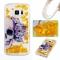 Samsung Galaxy S7 Case,Liquid Quicksand Transparent Soft TPU Silicone Case  (pattern 1) For Samsung Galaxy S7