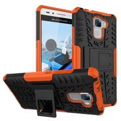 Huawei Honor 7/Honor 5C/Honor 7X/Honor 9 Lite/honor 10 Case,PC+TPU Tough Dual Layer Cover Shell (orange) For Huawei honor 7