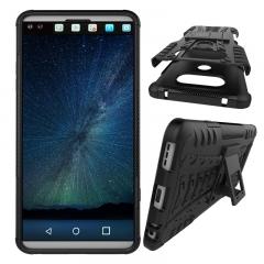 LG V20/LG V30/LG Q7/LG K10 2018 Case,Hard PC+Soft TPU Shockproof Tough Dual Layer Cover Shell (black) For LG V20
