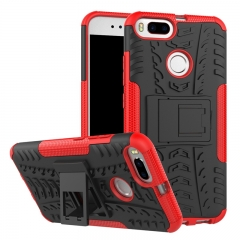 Xiaomi Mi 5X /Mi A2/Mi 6X/Mi 8/Redmi S2/Redmi 3S/3 Pro Case,PC+TPU Shockproof Tough Dual Layer Shell (red) For Xiaomi Mi 5X