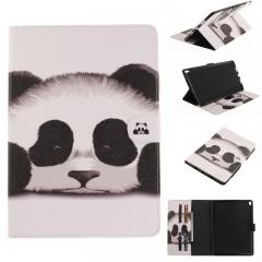 iPad Pro 10.5 Case,PU Leather Folio Flip Stand Smart Case Cover with Auto Wake/Sleep Feature (panda) For iPad Pro 10.5