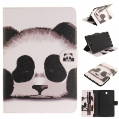 Samsung Galaxy Tab S2 8.0 T715 Case,PU Leather Flip Wallet Case Kickstand Cover with Card Slots (panda) For Galaxy T715