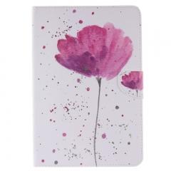 IPad Mini 1/2/3 Case,PU Leather Folio Flip Stand Smart Case Cover with Auto Wake/Sleep Feature (purple orchid) for ipad mini 1/2/3