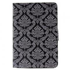 iPad mini 4 Case,PU Leather Folio Flip Stand Smart Case Cover with Auto Wake/Sleep Feature (totem flower) For ipad mini 4