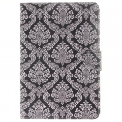 Samsung Galaxy Tab S2 8.0 T715 Case,PU Leather Flip Wallet Case with Card Slot Case Cover (totem flower) For Galaxy T715