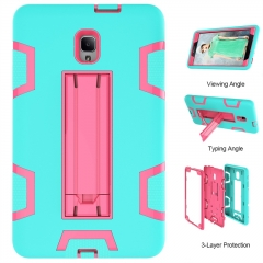 Galaxy Tab A 8.0 2017 (T380 / T385) Case,Shockproof Heavy Duty Rugged Hybrid Kickstand Case Cover (pattern 2) for Galaxy T380/T385