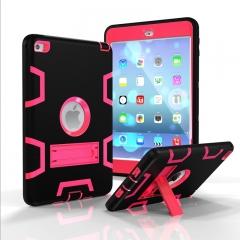 iPad Mini 4 Case,Shockproof Heavy Duty Rugged Hybrid Kickstand Case Cover (pattern 8) For iPad Mini 4