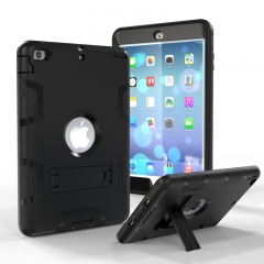 iPad Mini 1 2 3 Case,Shockproof Heavy Duty Rugged Hybrid Kickstand Case Cover (pattern 9) For iPad Mini 1 2 3
