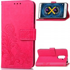 Huawei Honor 6X /GR5 2017 Case,[Wrist Strap] [Card Slots] PU Leather Wallet Case Cover (pattern 1)
