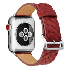 Fashion Apple Watch Genuine Cow Leather Embossed Strap 38mm 42mm for Apple Watch Series 3, 2, 1 (pattern a,38mm)