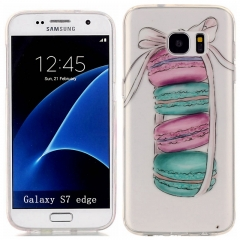 Samsung Galaxy S5 S6 S7 S8 S9 Plus / S6 S7 edge/Note 7 TPU case, soft silicone TPU phone case (macaron) for Samsung Galaxy S5