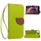 HTC Desire 10 Pro Case,[Card Slots][Stand] PU Leather Wallet Case with Wrist Strap (green) For HTC Desire 10 Pro