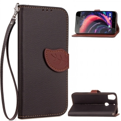 HTC Desire 10 Pro Case,[Card Slots][Stand] PU Leather Wallet Case with Wrist Strap (black) For HTC Desire 10 Pro