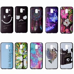 Samsung Galaxy S6 S7 S9/S7 S6 Edge/S9 S8 Plus/S6 Edge Plus Case,TPU Silicone Ultra-thin Phone Case (pattern 1) For Samsung Galaxy S6